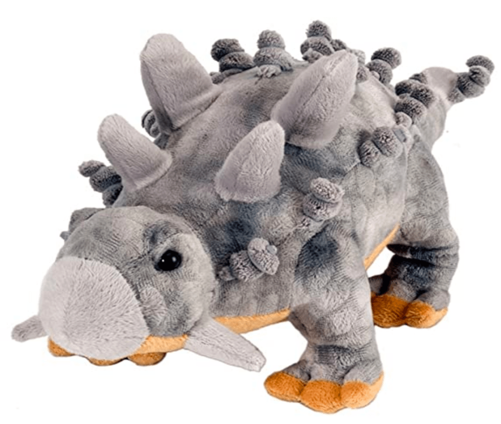 Wild Republic Ankylosaurus Plush, Dinosaur Stuffed Animal