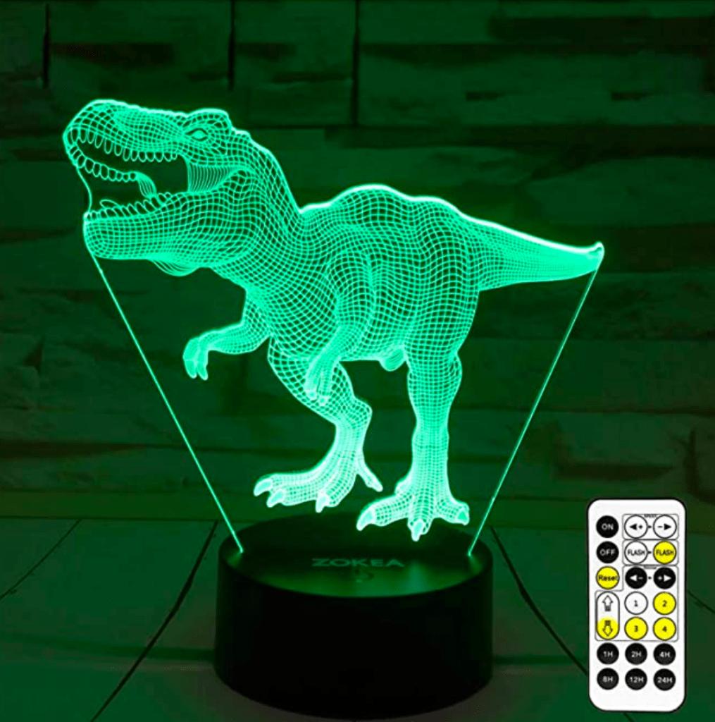 Dinosaur Toys, T Rex 3D Night Light