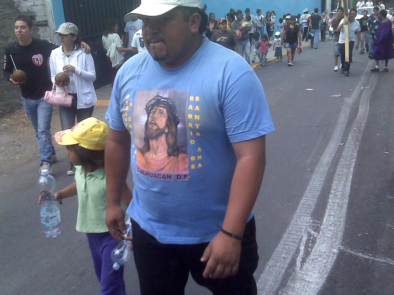 Iztapalapa on Easter Mexico City