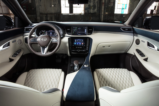 The Luxurious interior