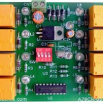 8 channel IR Remote Control Relay  Board Demo