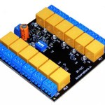 New 12 Channel IR remote control relay board