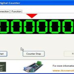 Digital Counter using iNano-IO board.