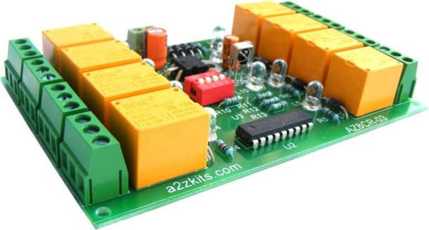Infrared remote control relay boards 8 channel iknowvations.in