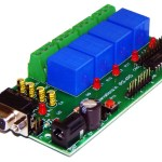 4 channel RS232 Relay & DAQ board iRS-4RD.