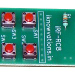 Infrared IR remote control transmitter as per your requirement.