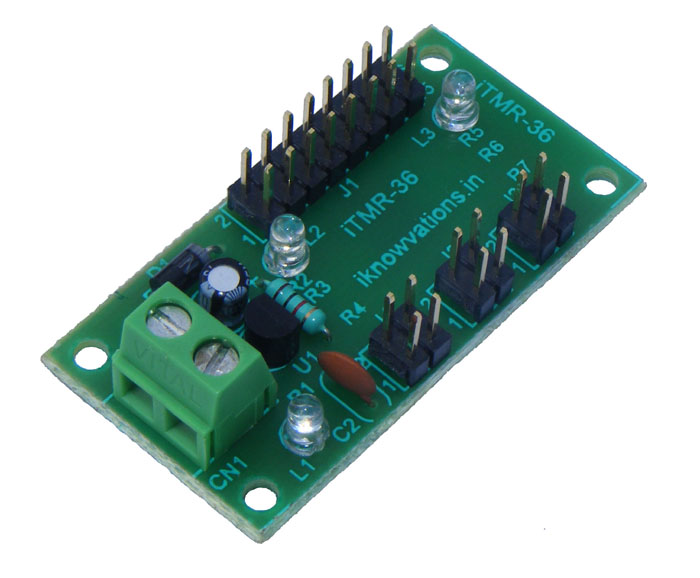 digital timer module 1  iTMR-36 iknowvations.in