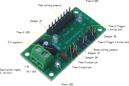 digital timer module 2  iTMR-36 iknowvations.in