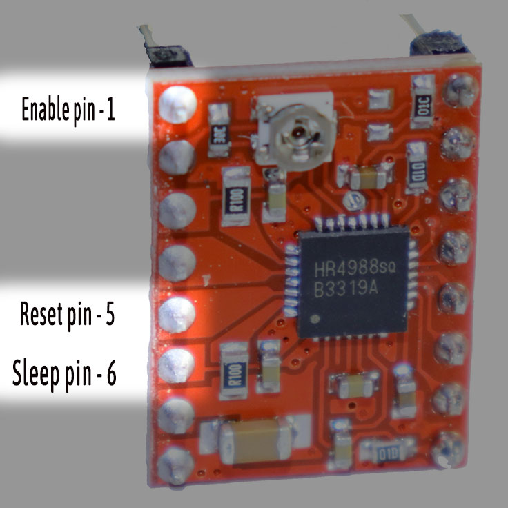 A4899 Stepper motor driver power control -iknowvations.in
