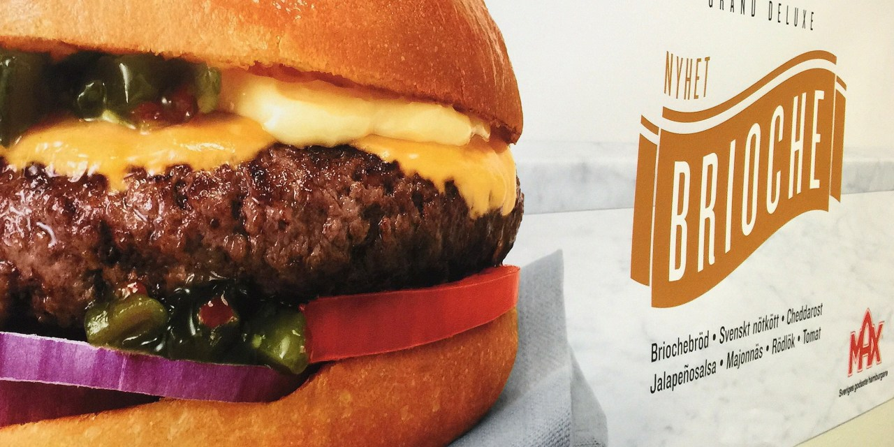 Provsmakning av Max nya hamburgerbröd