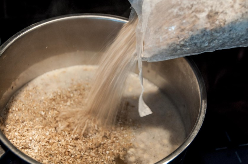ölbryggning-malt