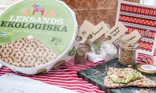Leksands Ekologiska knäckebröd och recept på Dukkah