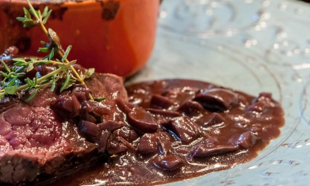 Marchand de Vin, en enkel och kraftig sås till köttet