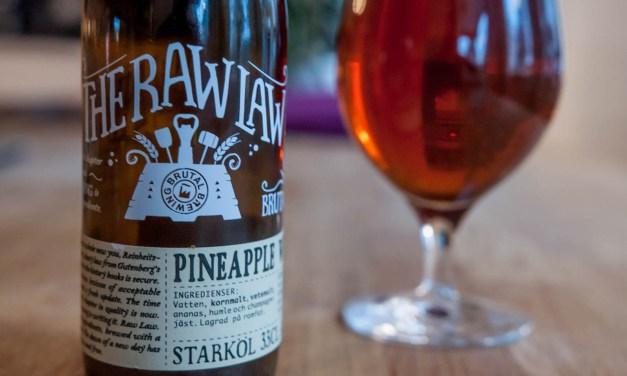 Brutal Brewing Raw Law – Pineapple Wheat Wine