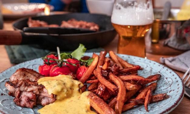 KycklingSteak med currybearnaise