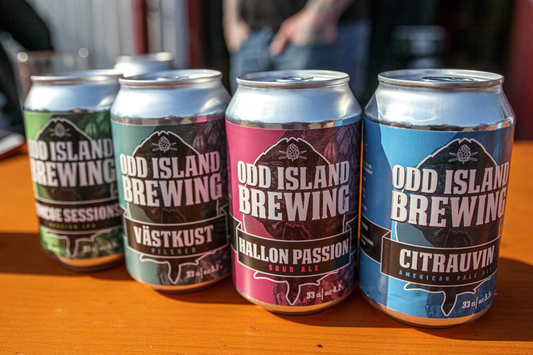 odd island brewing