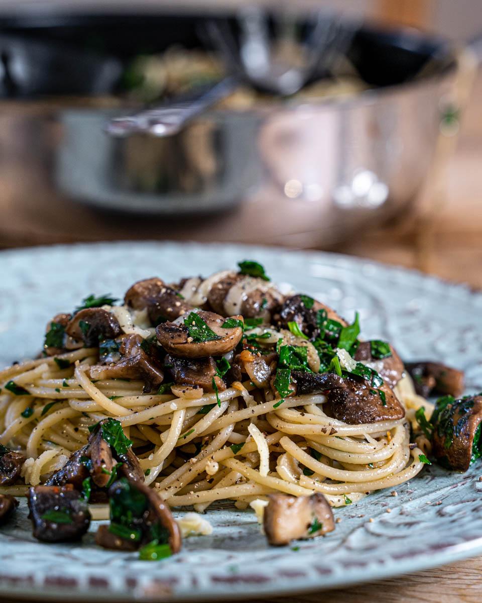 pasta aglio e elio