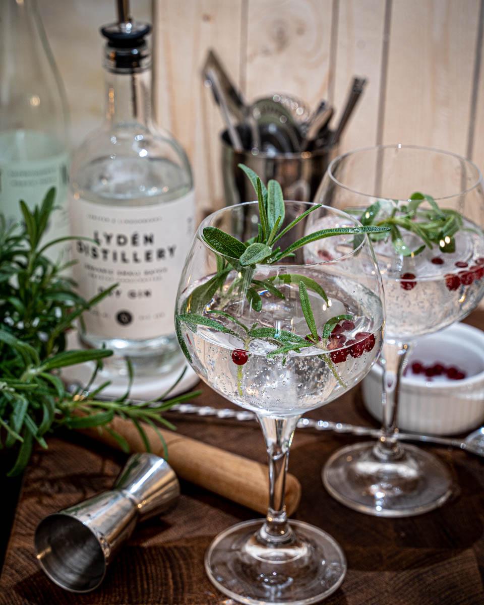 gin och tonic granskott
