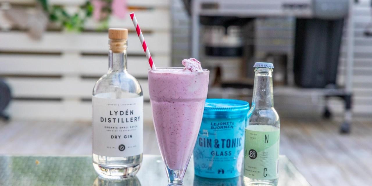 Gin & Tonic Milkshake