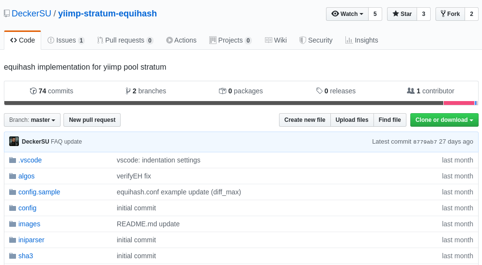 equihash mining pool source code