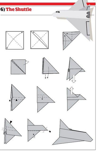 Comment Faire Des Avions En Papier : comment, faire, avions, papier, Comment, Faire, Avions, Papier, Plans), Ikonal.com