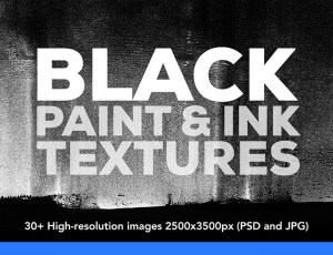 Handmade paint and ink paint textures