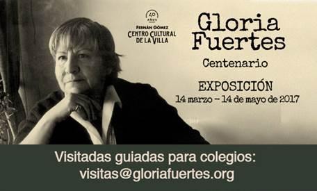 Noticias: La fundación Gloria Fuertes celebra el centenario de la poetisa sin apoyo institucional