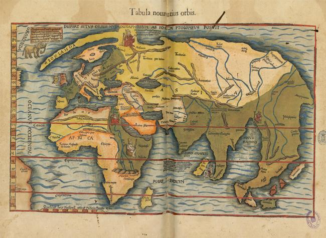 'Cartografías de lo desconocido' en la Biblioteca Nacional de España-BNE