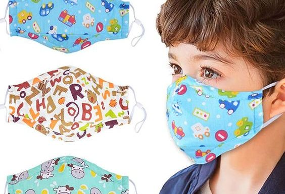 El uso de mascarillas contado para niños