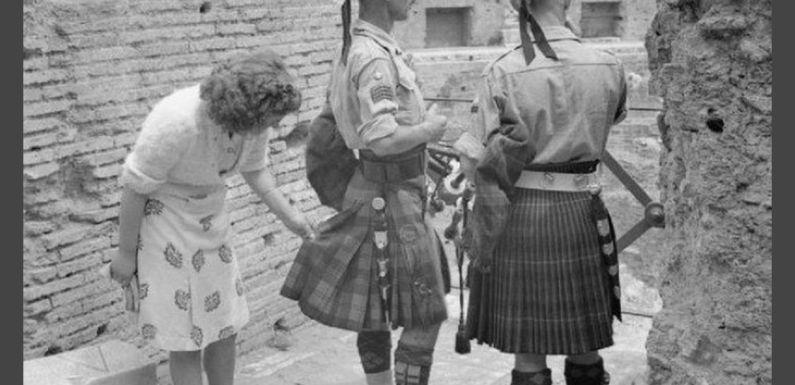 Origen de la falda escocesa, el kilt