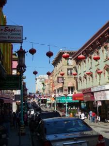 Rue typique de Chinatown