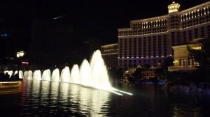 Les fontaines du Bellagio
