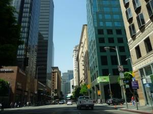 Dans les rues de Downtown