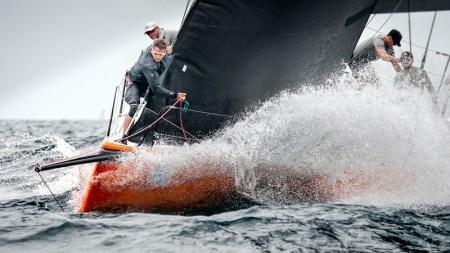 Ben Bardwell sailing