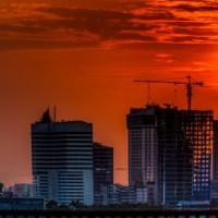 Sunset Di Belantara Jakarta - Aplikasi HDR