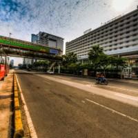 Jakarta Sepi: HDR Di Jalan Thamrin