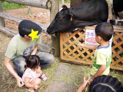【幼児体験】牧場でエサやり☆かわいさ貯金を貯めてきた!
