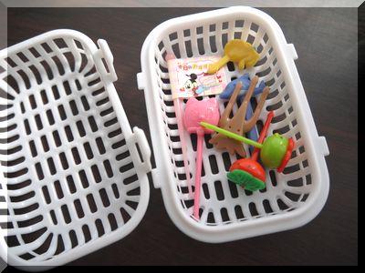 食洗機用100円ショップの小物カゴ
