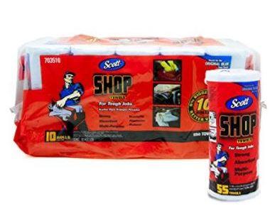 コストコのスコット ショップタオルが超便利!感想・使い方まとめ、掃除にも役立つおすすめ人気商品!