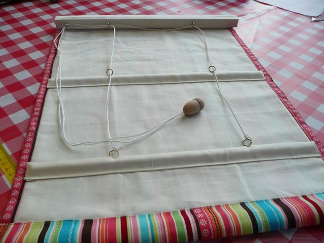 Lovely How To Make A Roman Blind 2015