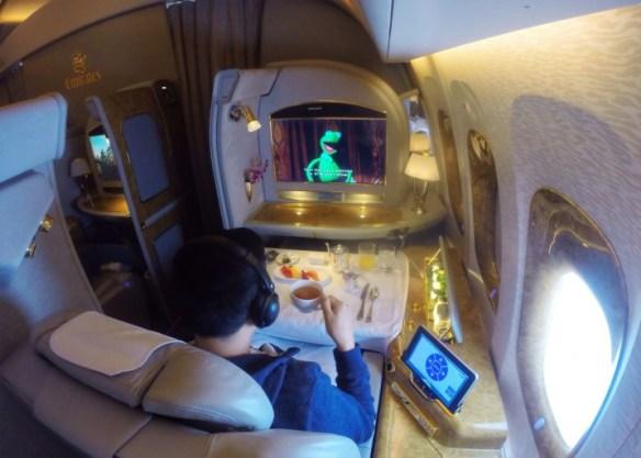 Emirates First Class - hightea