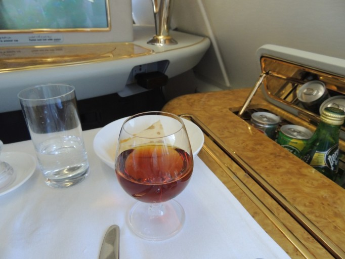 Emirates First Class Hennessy Paradis