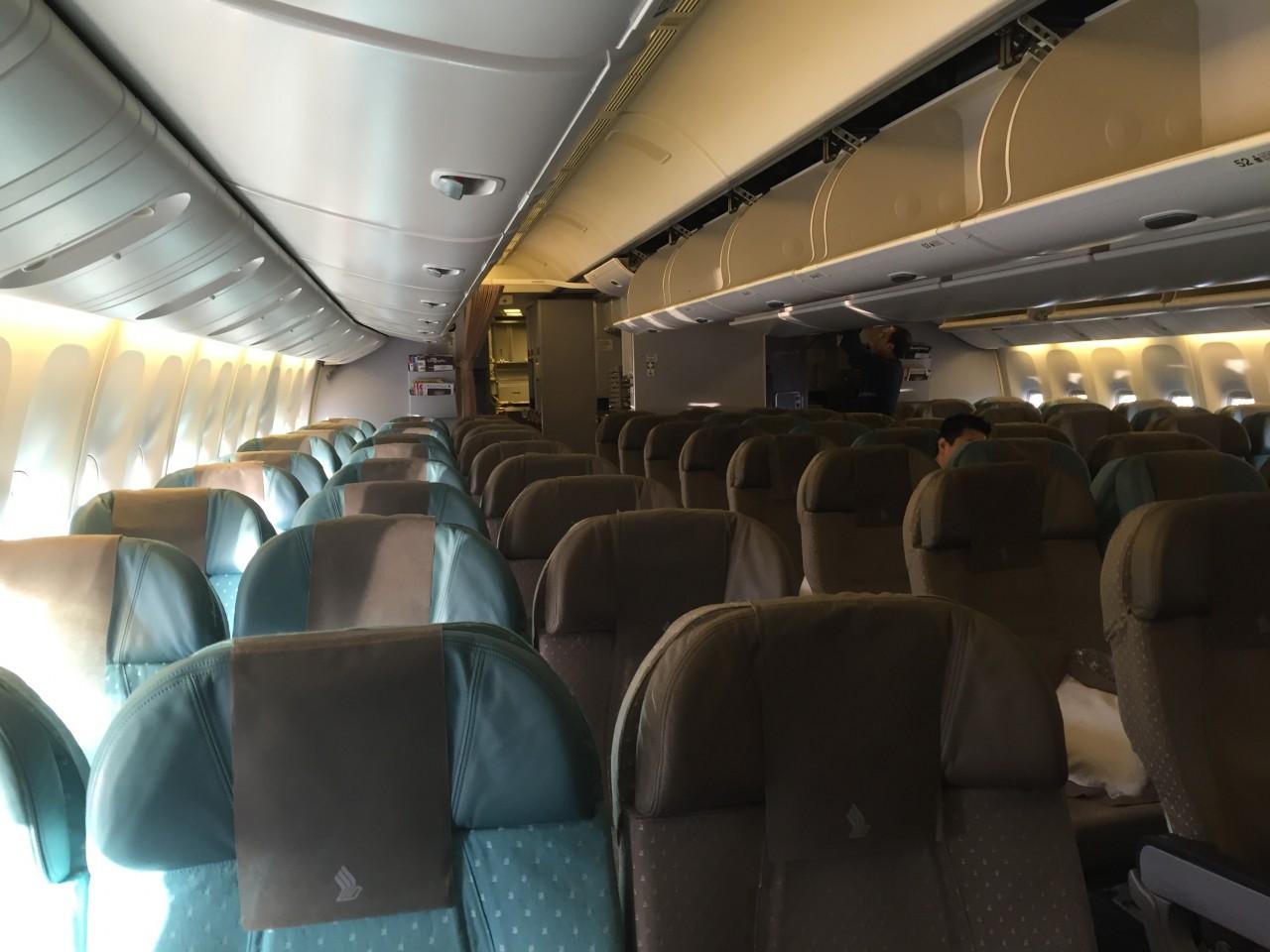 Singapore Airlines Economy naar Singapore  InsideFlyer NL