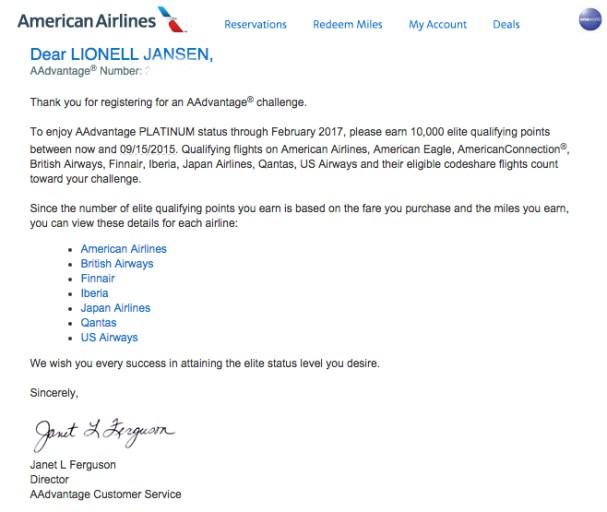 AA Plat - Challenge Confirmation
