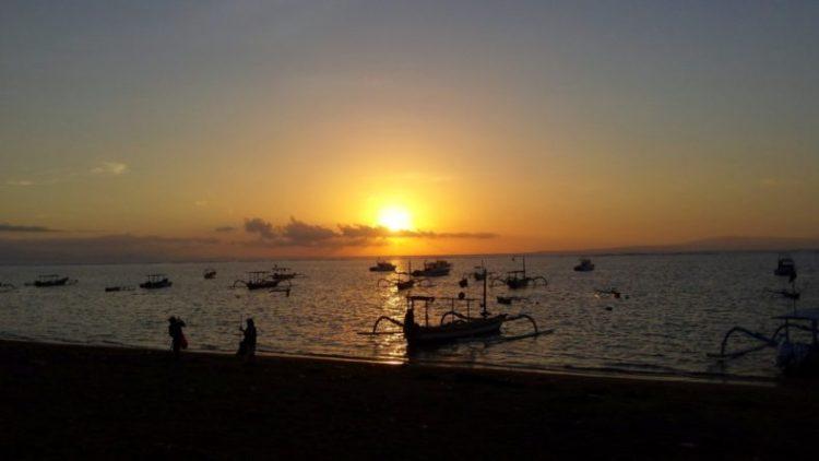 Bali-Sanur-Zonsopkomst