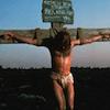 Jezus aan een kruis