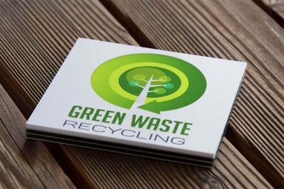 Arculattervezés Logo Green Waste Recycling
