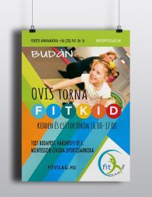 ovis fit-kid-plakát és szórólap