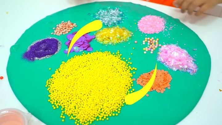 איך מנקים סליים | how to clean slime