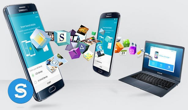 אפליקציית העברת נתונים אייפון לאנדרואיד Samsung Smart Switch.
